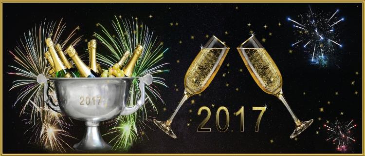 Das neue Jahr 2017 hat begonnen